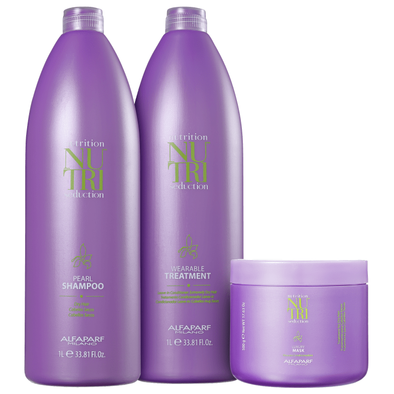 Kit Alfaparf Nutri Seduction Deep Nutrition Salon (3 Produtos)