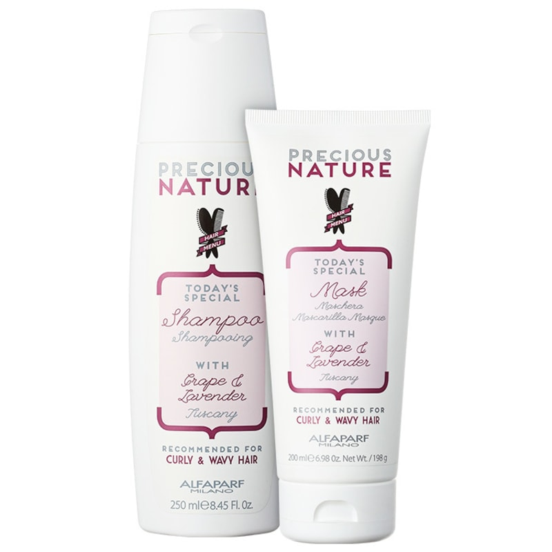 Alfaparf Precious Nature Grape & Lavender Duo Kit (2 Produtos)