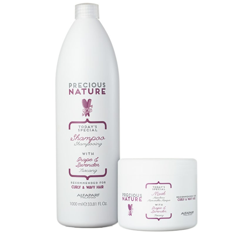 Alfaparf Precious Nature Grape & Lavender Salon Duo Kit (2 Produtos)