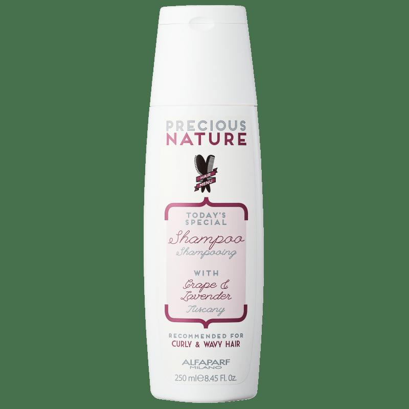 Alfaparf Precious Nature Grape & Lavender - Shampoo sem Sulfato 250ml