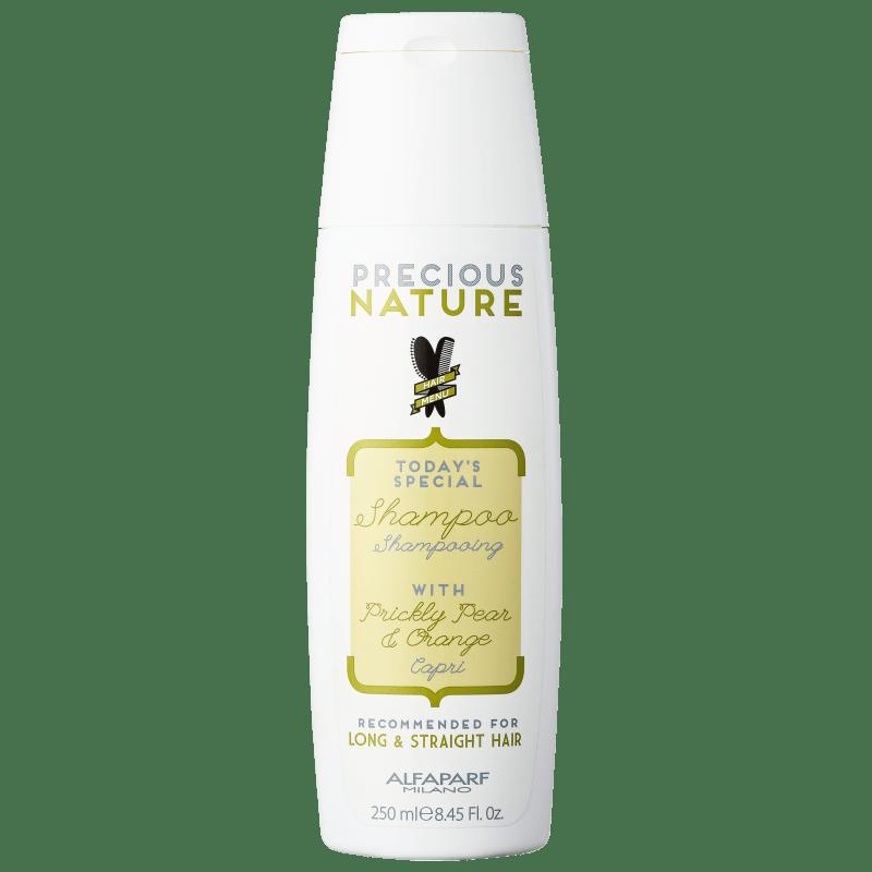 Alfaparf Precious Nature Prickly Pear & Orange - Shampoo sem Sulfato 250ml