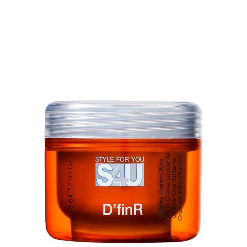 Alfaparf S4u Style For You D´Finr Glossy Cream Wax - Finalizador 75g