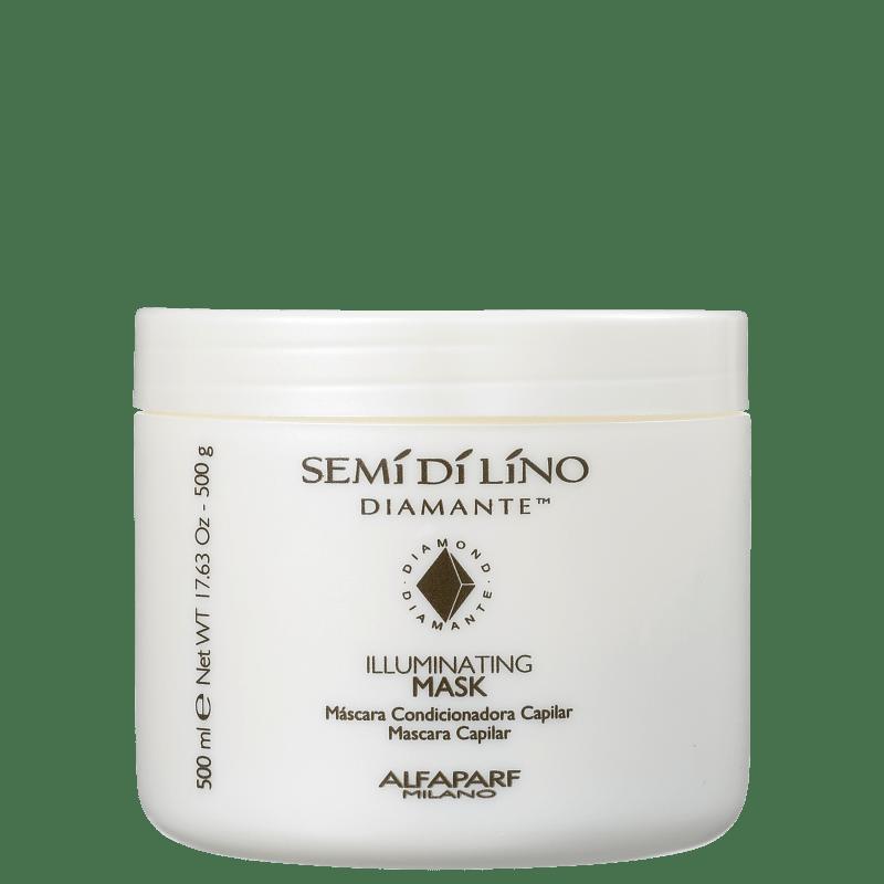 Alfaparf Semi di Lino Diamante Illuminating Mask - Máscara 500g