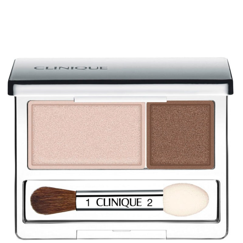 Clinique All About Shadows Ivory Bisque/Bronze Satin - Paleta de Sombras 2,2g