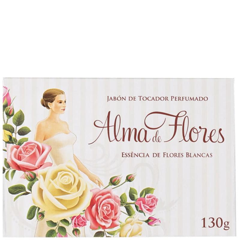 Alma de Flores Essência de Flores Brancas - Sabonete em Barra 130g