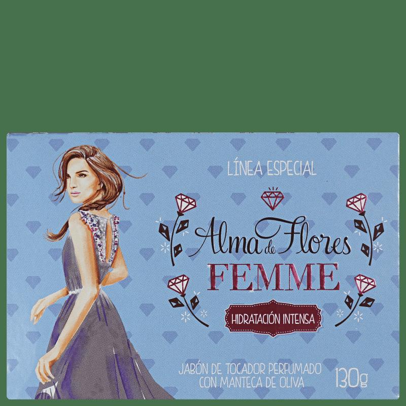 Alma de Flores Femme - Sabonete em Barra 130g