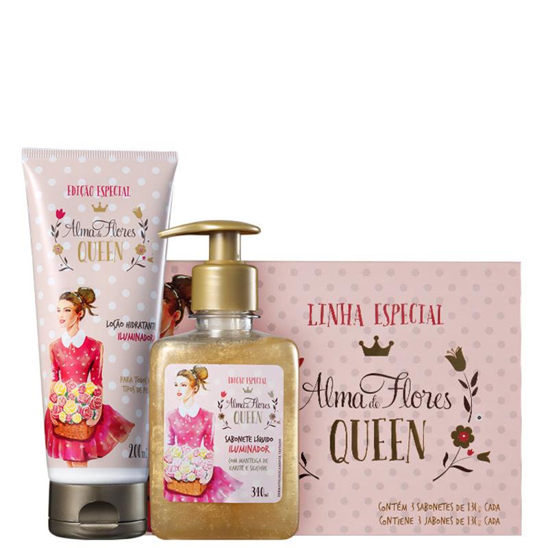 Kit Alma de Flores Queen Trio (3 produtos)