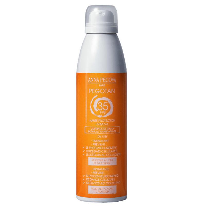 Anna Pegova Pegotan Haute Protecion UVB/UVA Continuous Spray FPS 35 - Protetor Solar em Spray 150ml
