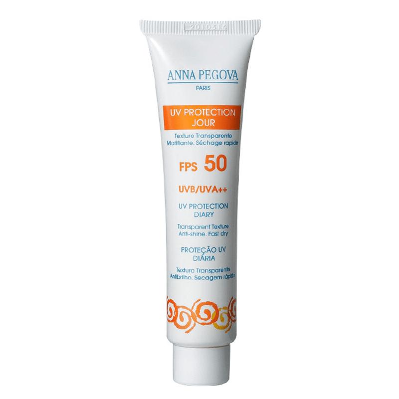Anna Pegova UV Protection Jour UVB/UVA ++ FPS 50 - Protetor Solar Facial 40ml