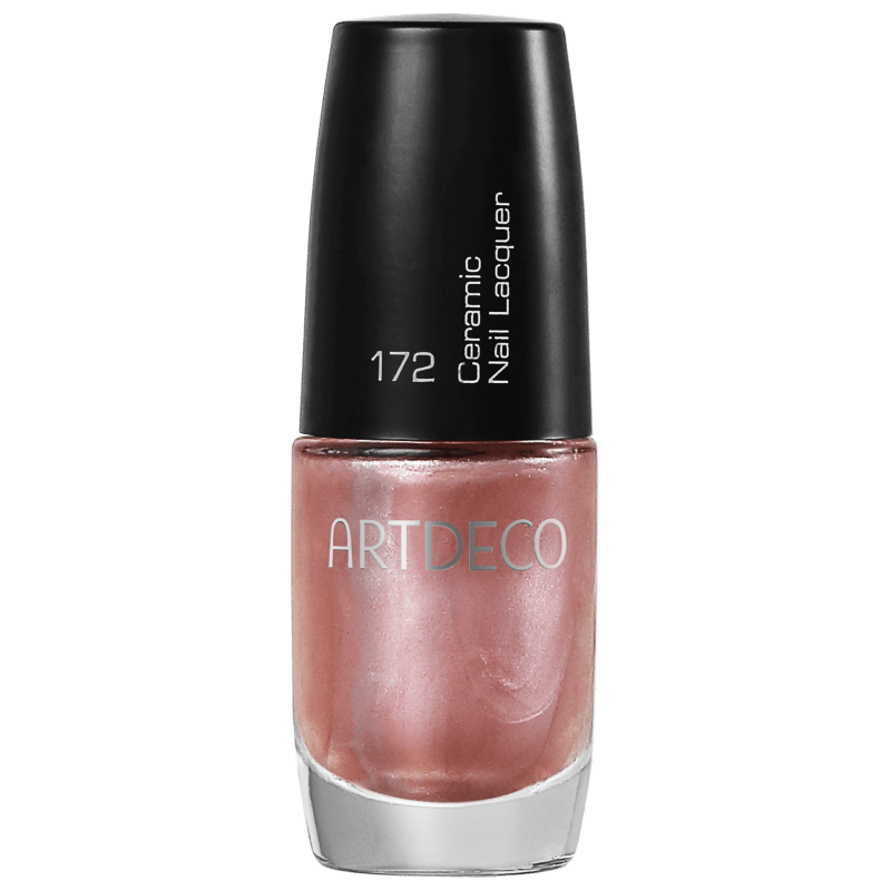 Artdeco Ceramic Nail Lacquer 172 Light Pearly Rose - Esmalte Perolado 6ml