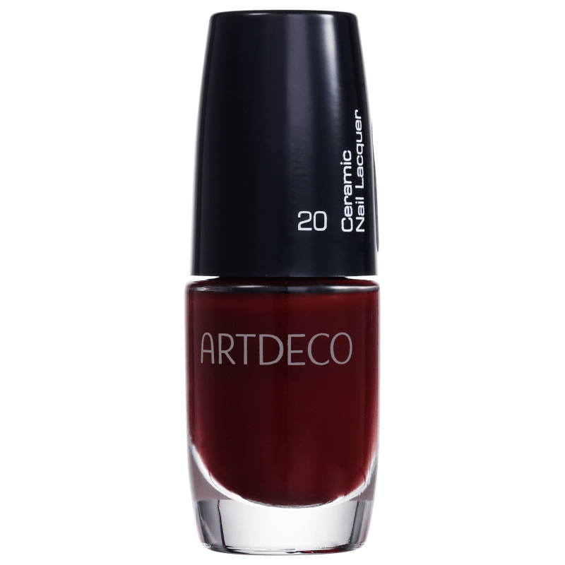 Artdeco Ceramic Nail Lacquer 20 Tango Red - Esmalte Cremoso 6ml