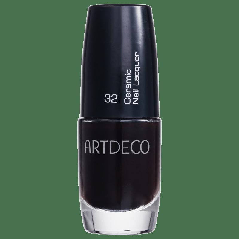 Artdeco Ceramic Nail Lacquer 32 Black Cherry - Esmalte Cremoso 6ml