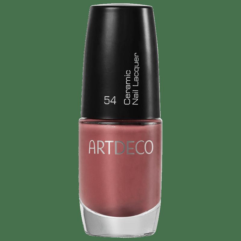 Artdeco Ceramic Nail Lacquer 54 Maiden Pink - Esmalte Cremoso 6ml
