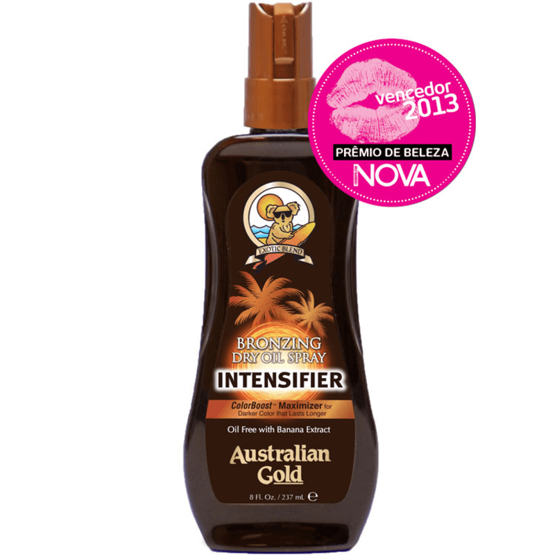Australian Gold Bronzing Dry Oil Spray Intensifier - Spray Bronzeador 237ml