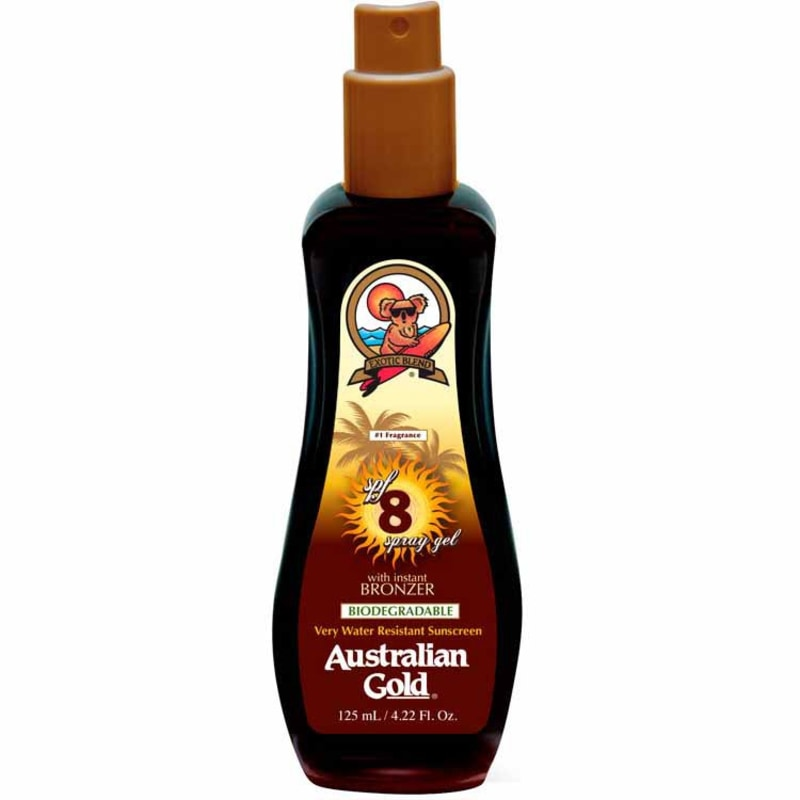Australian Gold Instant Bronzer FPS 8 - Spray Bronzeador 125ml