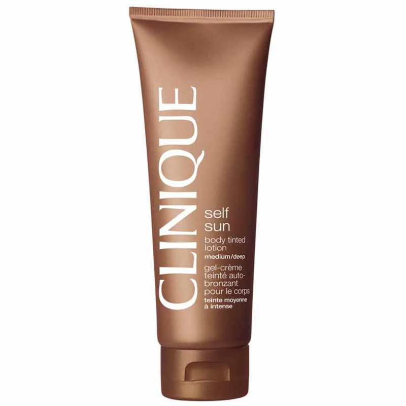 Clinique Sun Care Self Sun Body Tinted Lotion Medium/Deep - Loção Autobronzeador 125ml