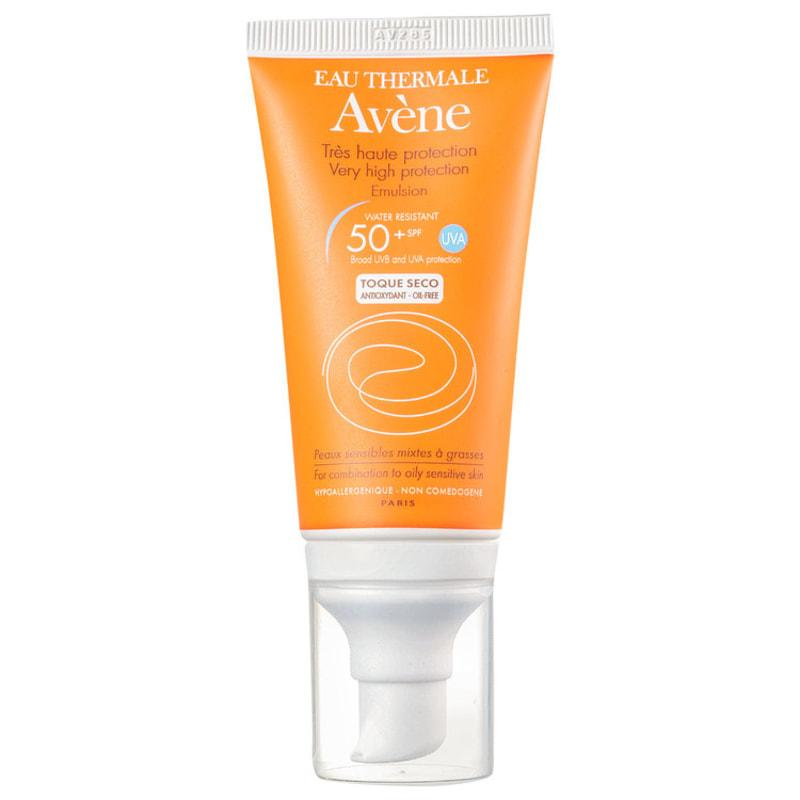 Avène Très Haute Protection Emulsion FPS 50+ - Protetor Solar Facial em Emulsão 50ml