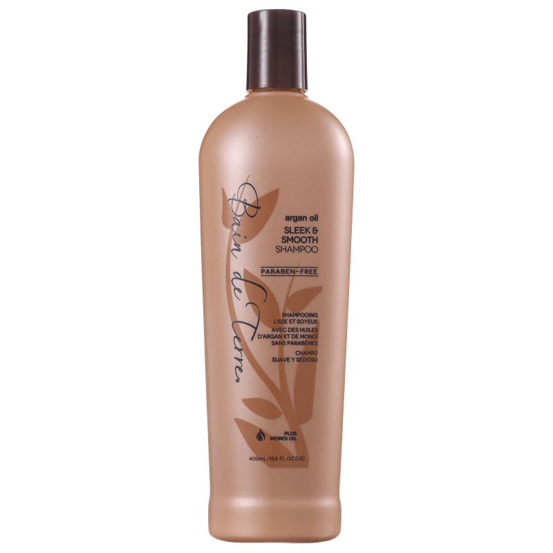 Bain de Terre Argan Oil Sleek & Smooth - Shampoo 400ml