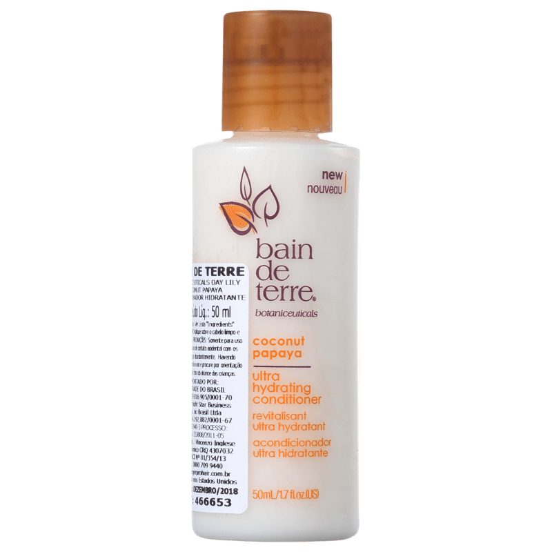Bain De Terre Coconut Papaya Ultra Hydrating Conditioner - Condicionador 50ml