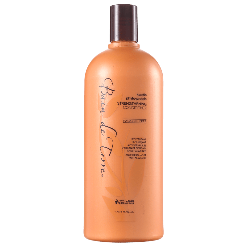 Bain de Terre Keratin Phyto-Protein Strengthening Conditioner - Condicionador 1000ml