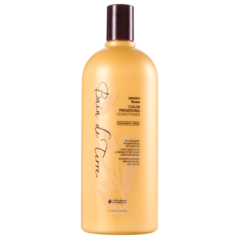 Bain de Terre Passion Flower Color Preserving Conditioner - Condicionador 1000ml