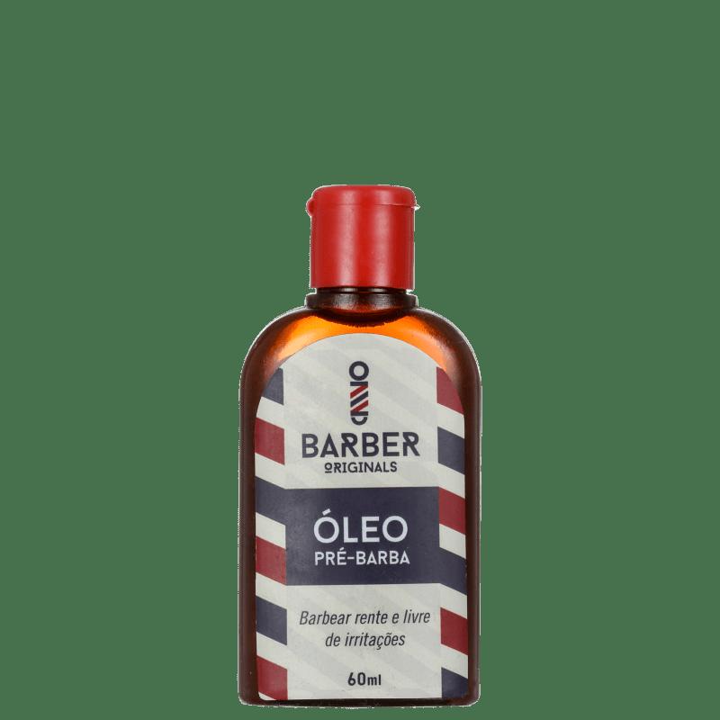 Barber Originals Barbear Rente e Livre de Irritações - Óleo Pré-Barba 60ml