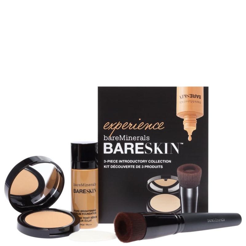 Kit bareMinerals bareSkin Experience Bare 13 Tan (3 produtos)