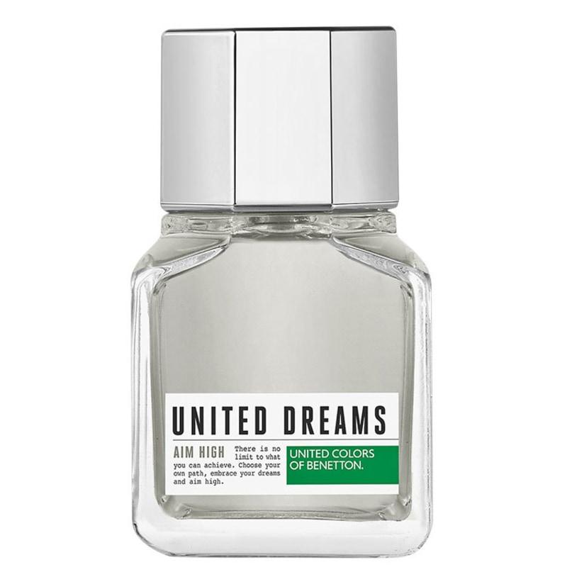 United Dreams Aim High Benetton Eau de Toilette - Perfume Masculino 60ml