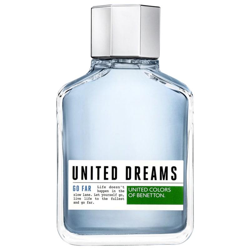 United Dreams Go Far Benetton Eau de Toilette - Perfume Masculino 200ml