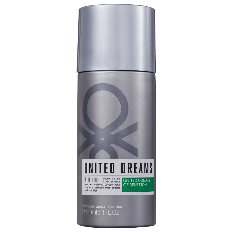 Benetton United Dreams Aim High - Desodorante Spray Masculino 150ml