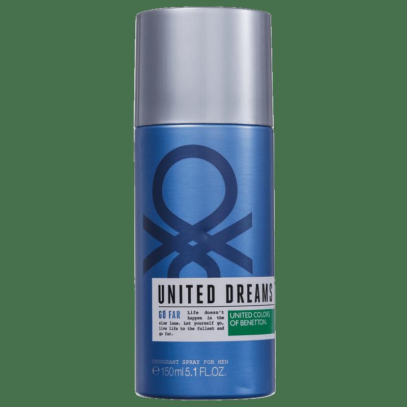 Benetton United Dreams Go Far - Desodorante Spray Masculino 150ml