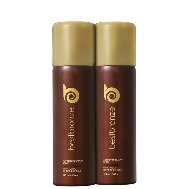 Kit Best Bronze Duplo Bronzeado (2 produtos)