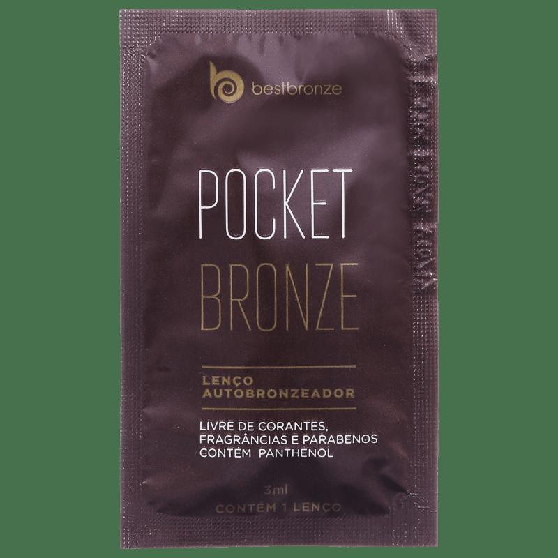 Best Bronze Pocket Bronze - Lenço Autobronzeador 10x3ml