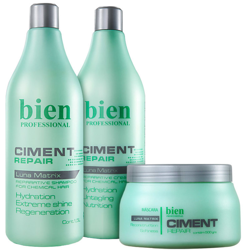 Bien Professional Ciment Repair Salon Kit (3 Produtos)