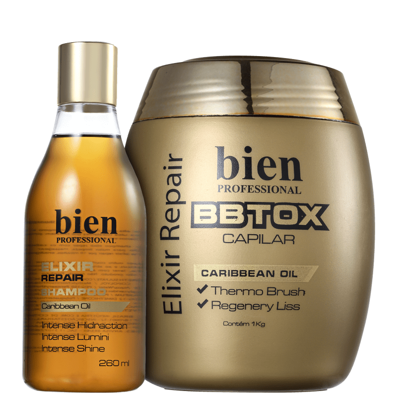 Bien Professional Elixir Repair Duo Kit (2 Produtos)