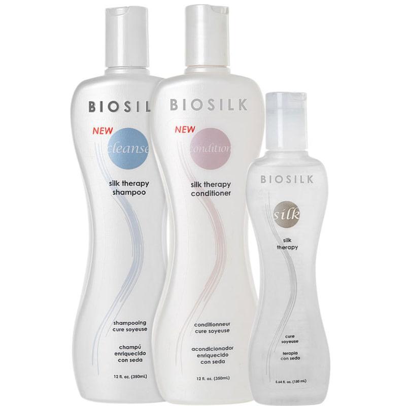 Biosilk Silk Therapy Trio Kit (3 Produtos)