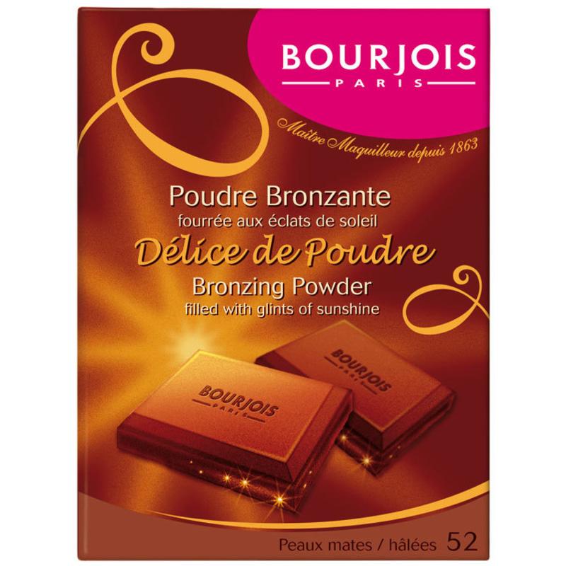 Bourjois Délice de Poudre 52 Mates/Halees - Bronzer
