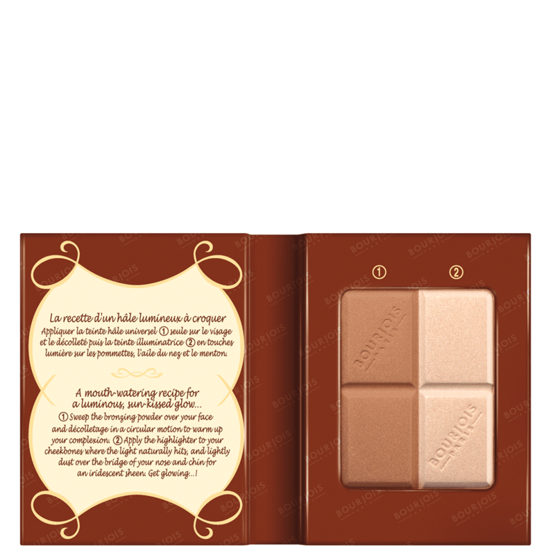 Bourjois Délice de Poudre - Paleta de Maquiagem 16,5g
