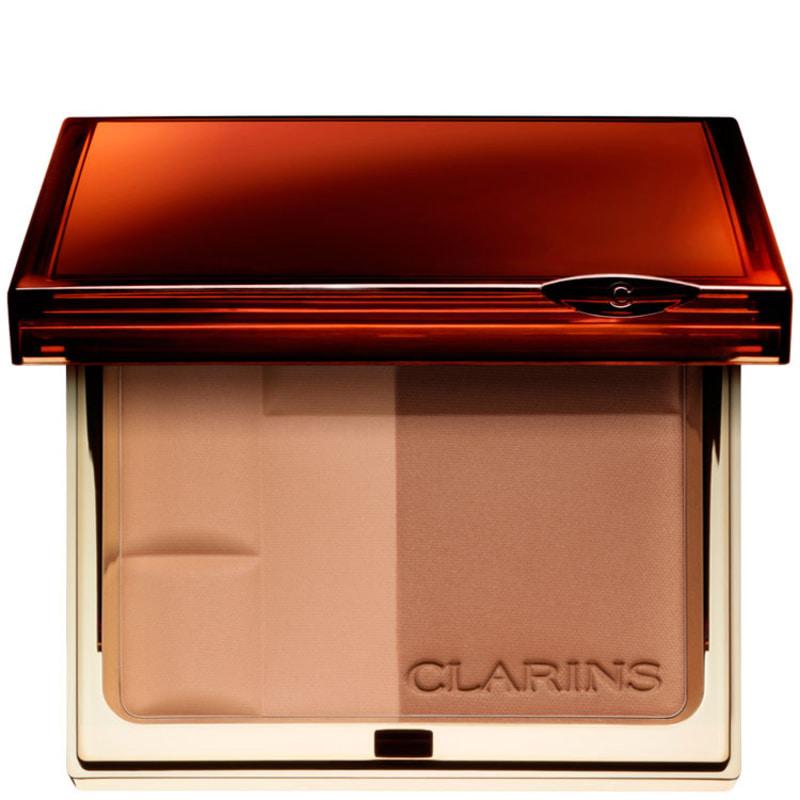 Clarins Bronzing Duo Mineral Powder Compact FPS 15 02 - Bronzer 10g