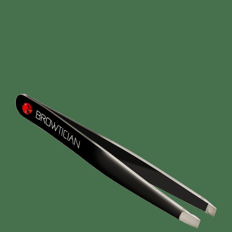 Browtician Cristal Vermelho - Pinça de Ponta Inclinada