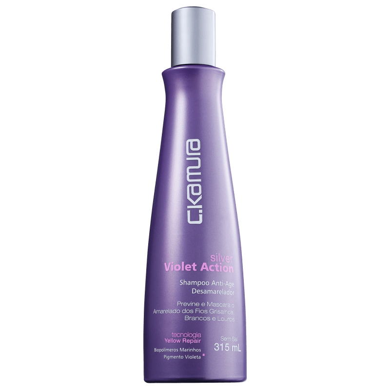 C.Kamura Silver Violet Action - Shampoo 315ml