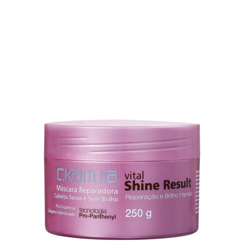 C.Kamura Vital Shine Result - Máscara de Tratamento 250g