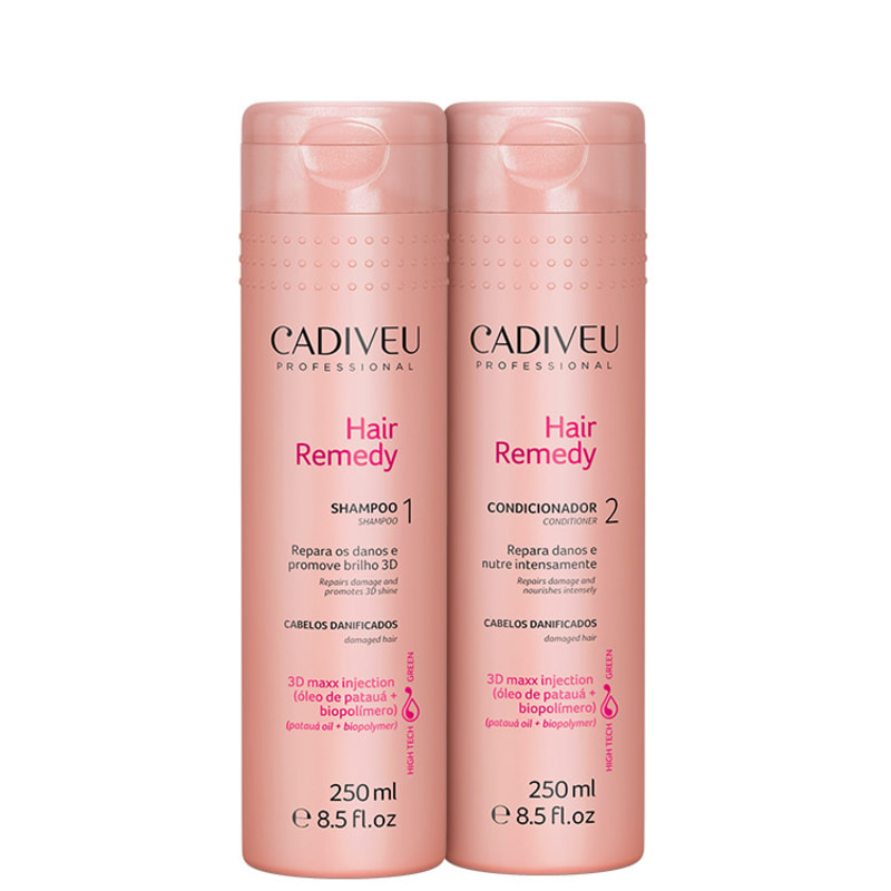 Kit Cadiveu Professional Hair Remedy Duo (2 Produtos)