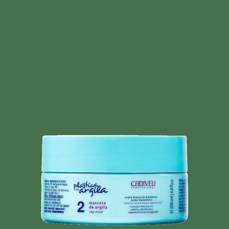 Cadiveu Professional Plástica de Argila - Máscara de Argila 200g