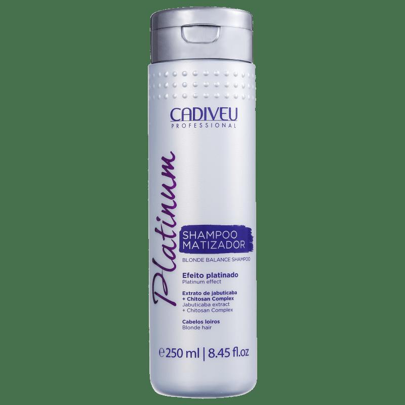 Cadiveu Professional Platinum - Shampoo Matizador 250ml