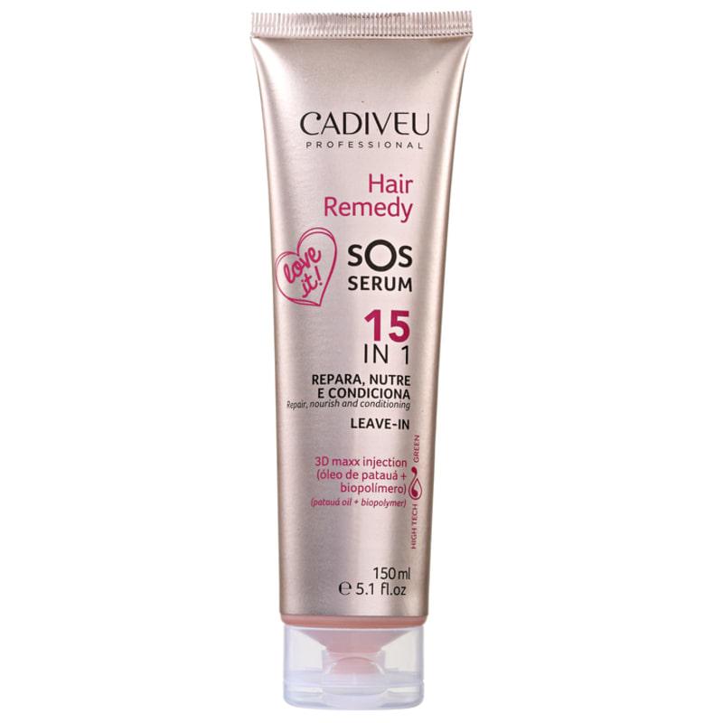 Cadiveu Professional Hair Remedy SOS Serum 15 em 1 - Leave-in  150ml