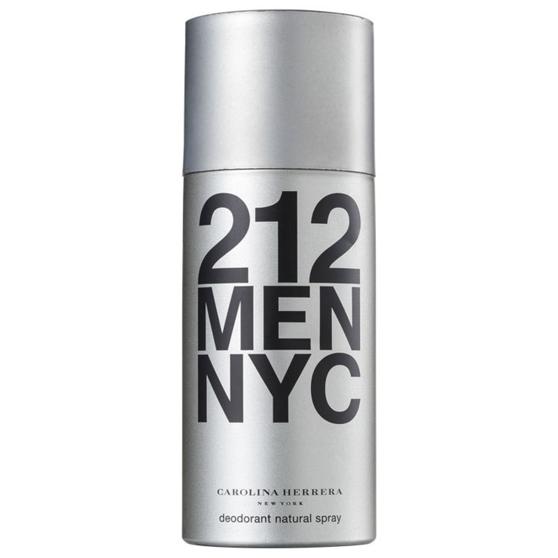 Carolina Herrera 212 Men - Desodorante Spray Masculino 150ml