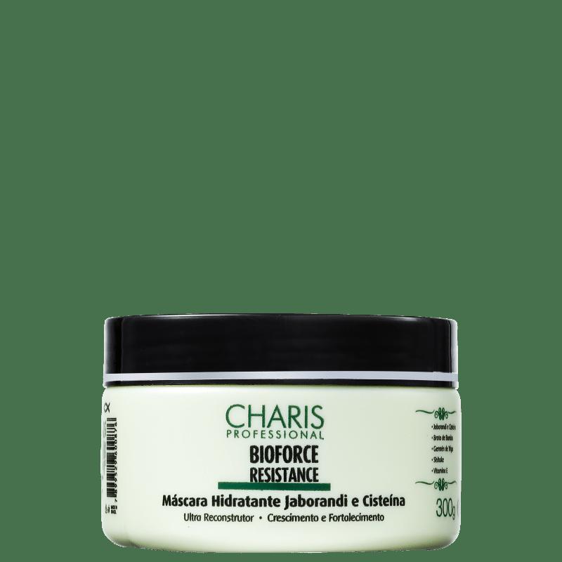 Charis Bioforce Resistance Máscara Hidratante Jaborandi e Cisteína - Máscara 300g