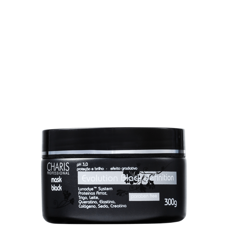 Charis Evolution Black Definition Mask Black - Máscara 300g