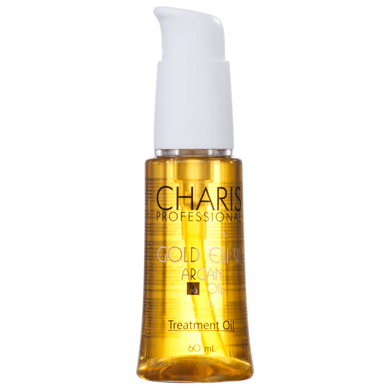 Charis Gold Elixir Argan - Óleo Capilar 60ml